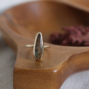 No. 9 Golden Ring | Size 6