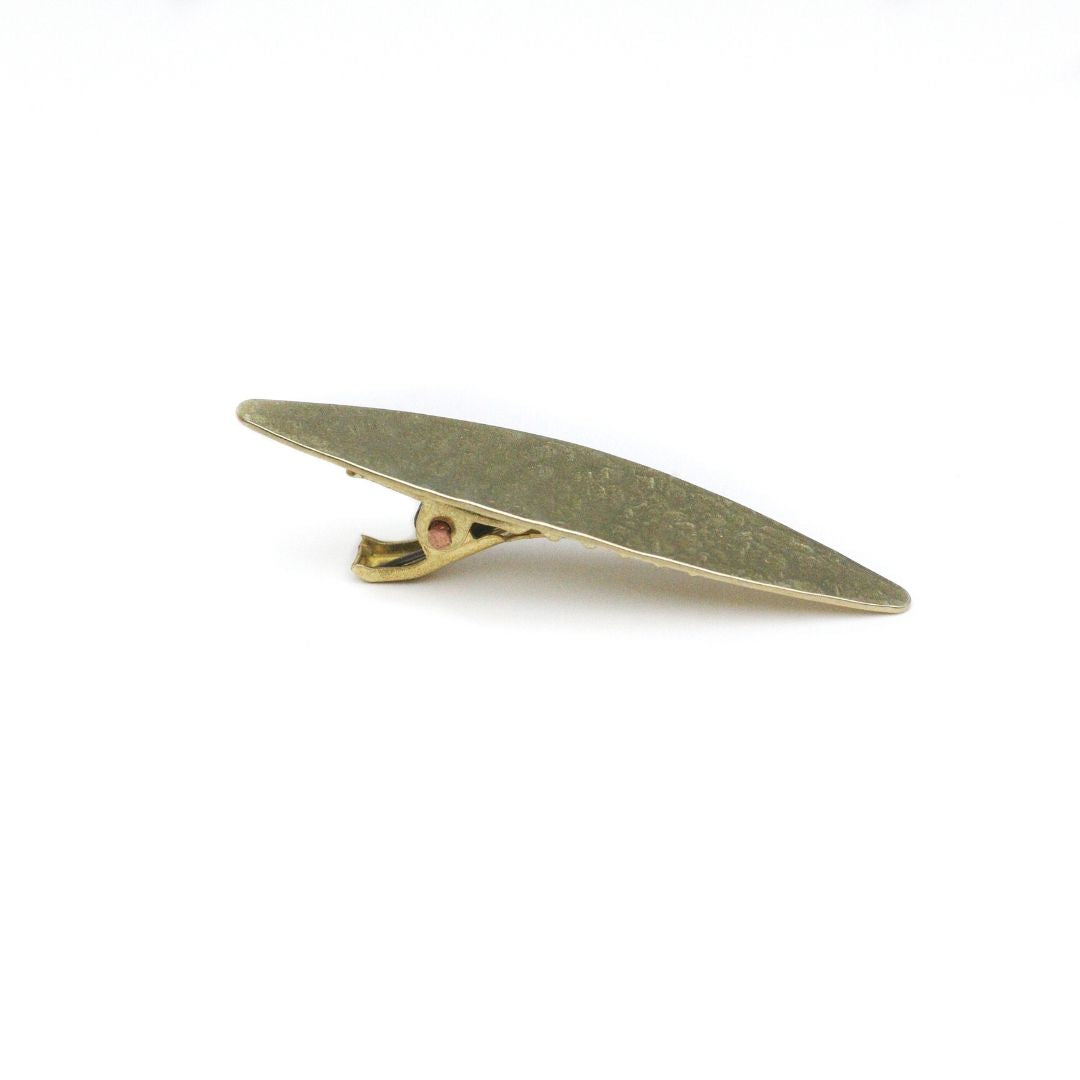 Marquise Alligator Hair Clip