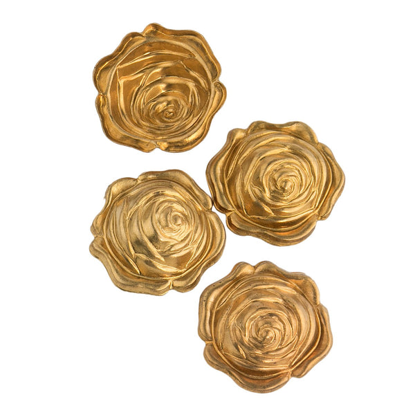 EVENT Vintage Brass Rose Stamping 13mm (1 piece) E5-019