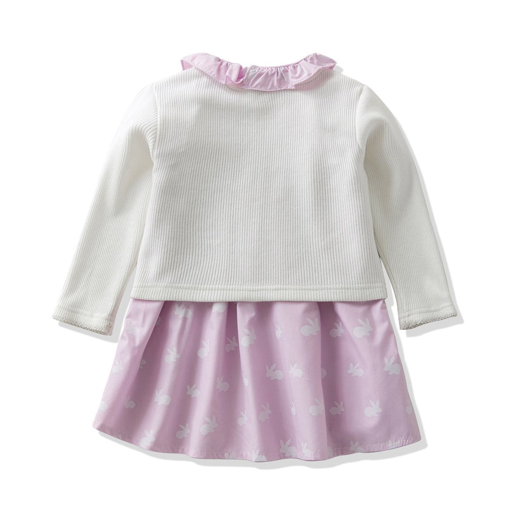 7b411e9a2fb1 Ferenyi s Baby Girl s Clothes Long-sleeved Jacket With Floral Dress ...