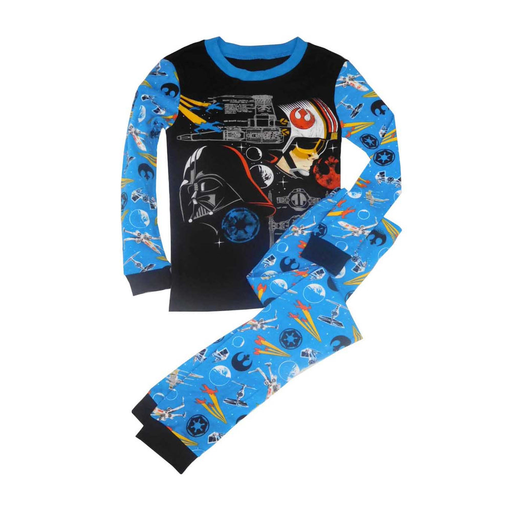 Disney Space Design Pajamas Littlecocoon Carters 3 Pieces Orange Mickey Mouse