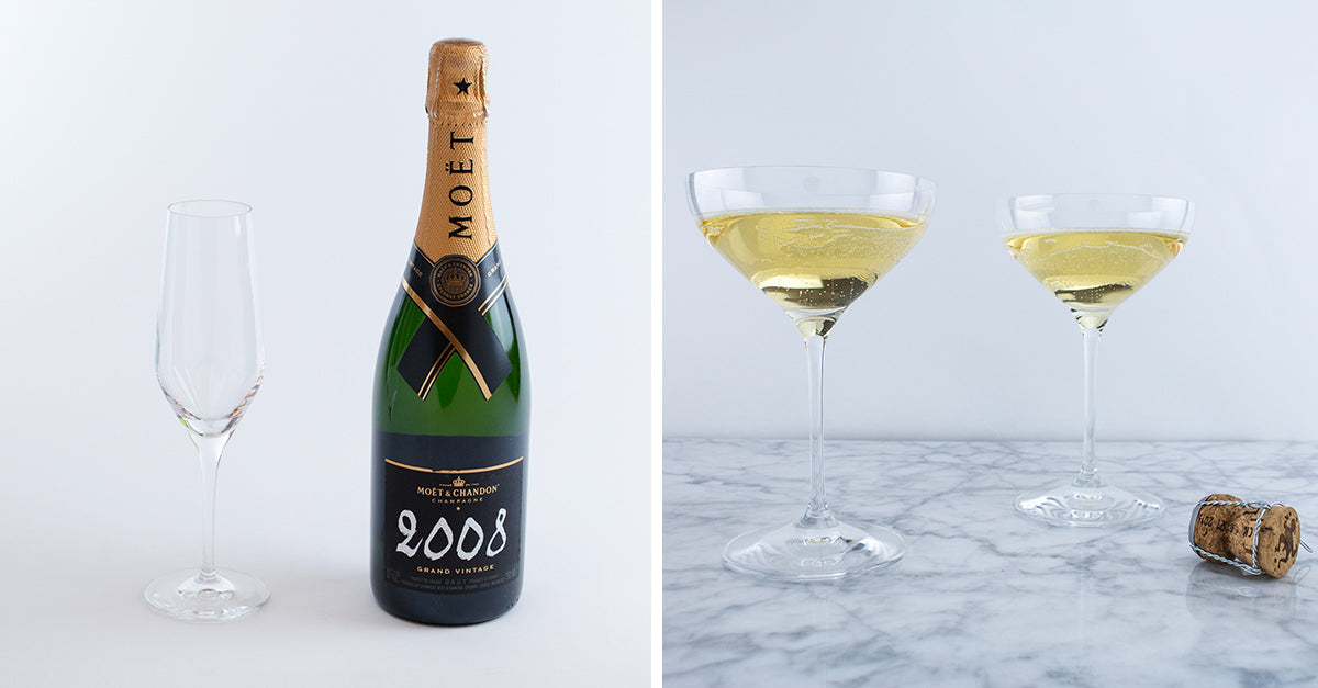 Champagne Flutes Vs Champagne Coupes