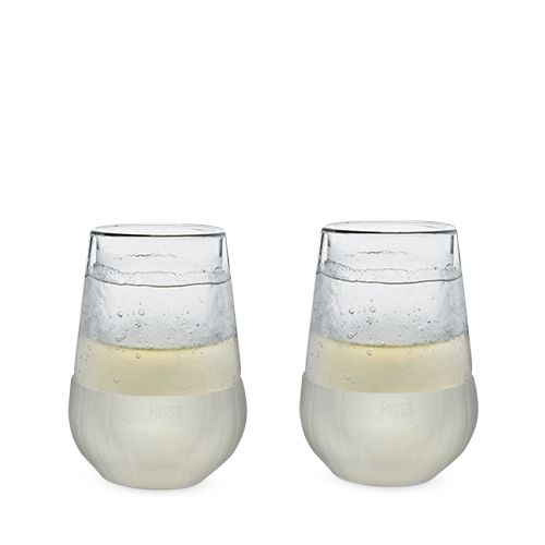 Cooler than Cool Glacier Wine Glass (Set of 2)