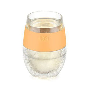 Cooler Than Cool Chilled Wine Glass (Tangerine)