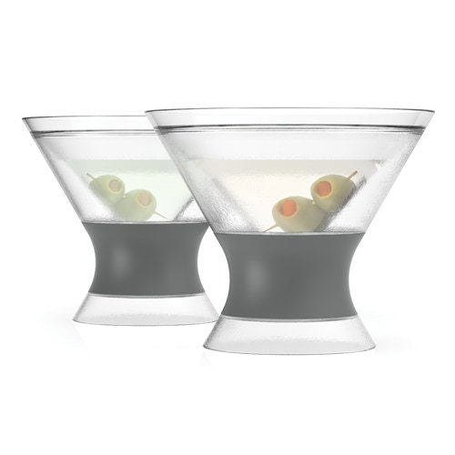 Cooler than Cool Chilled Martini Glass (Set of 2)