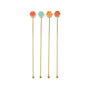 Sunset Swizzle Sticks