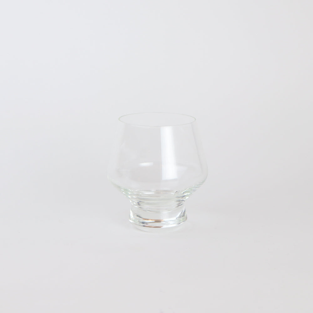 Modern Footed Punch Glasses (Set of 2)