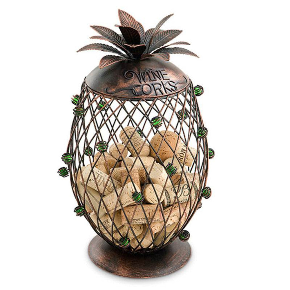 Pineapple Wine Cork Holder
