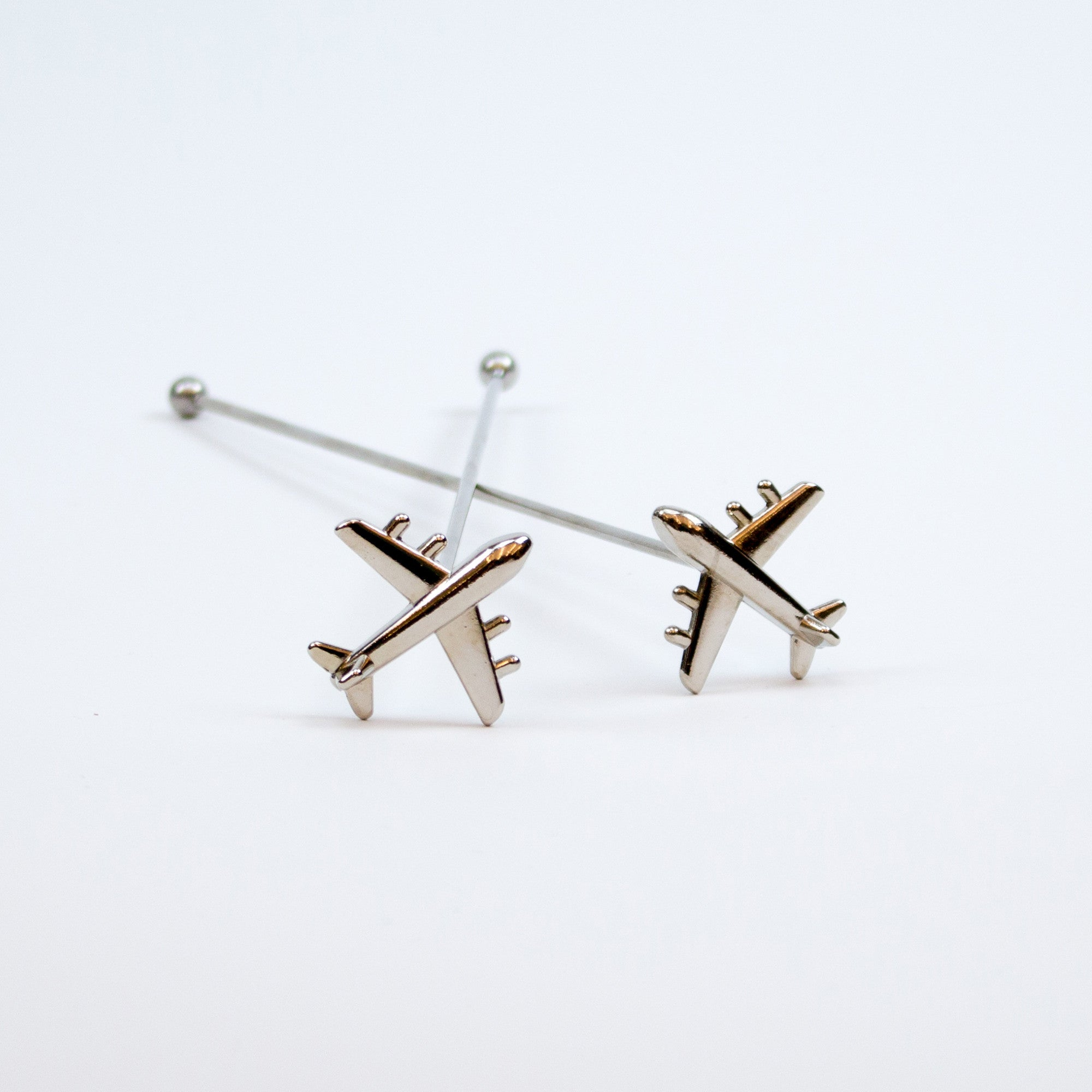 airplane swizzle sticks set of 2 the vinepair store