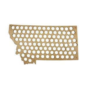 US Country and State Beer Cap Maps