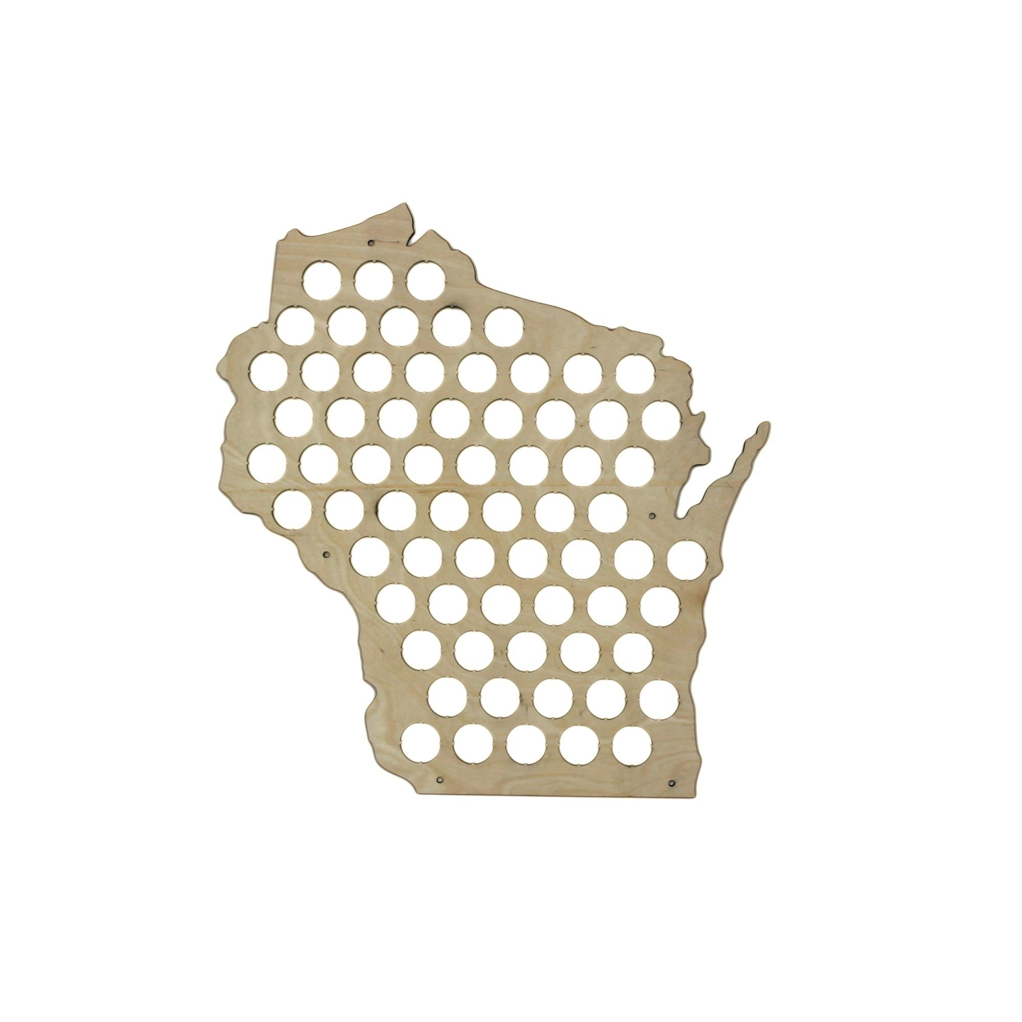 Gifts For The Beer Nerd The VinePair Store - Indiana beer cap map