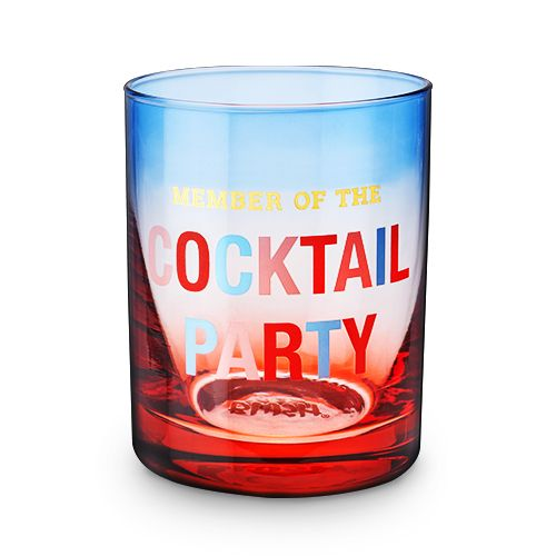 Member of the Cocktail Party Glass