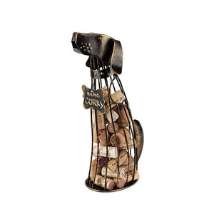Dog Shaped Wine Cork Holder