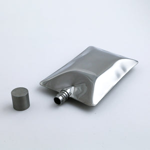 Liquid Body Flask (Chrome)
