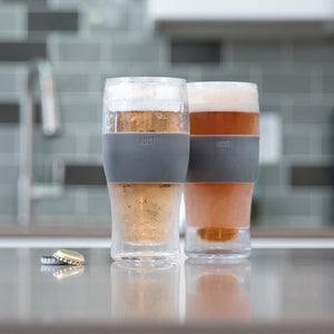 Cooler than Cool Chilled Pint Glass (Set of 2)