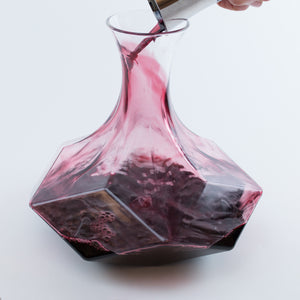 Geometric Crystal Decanter