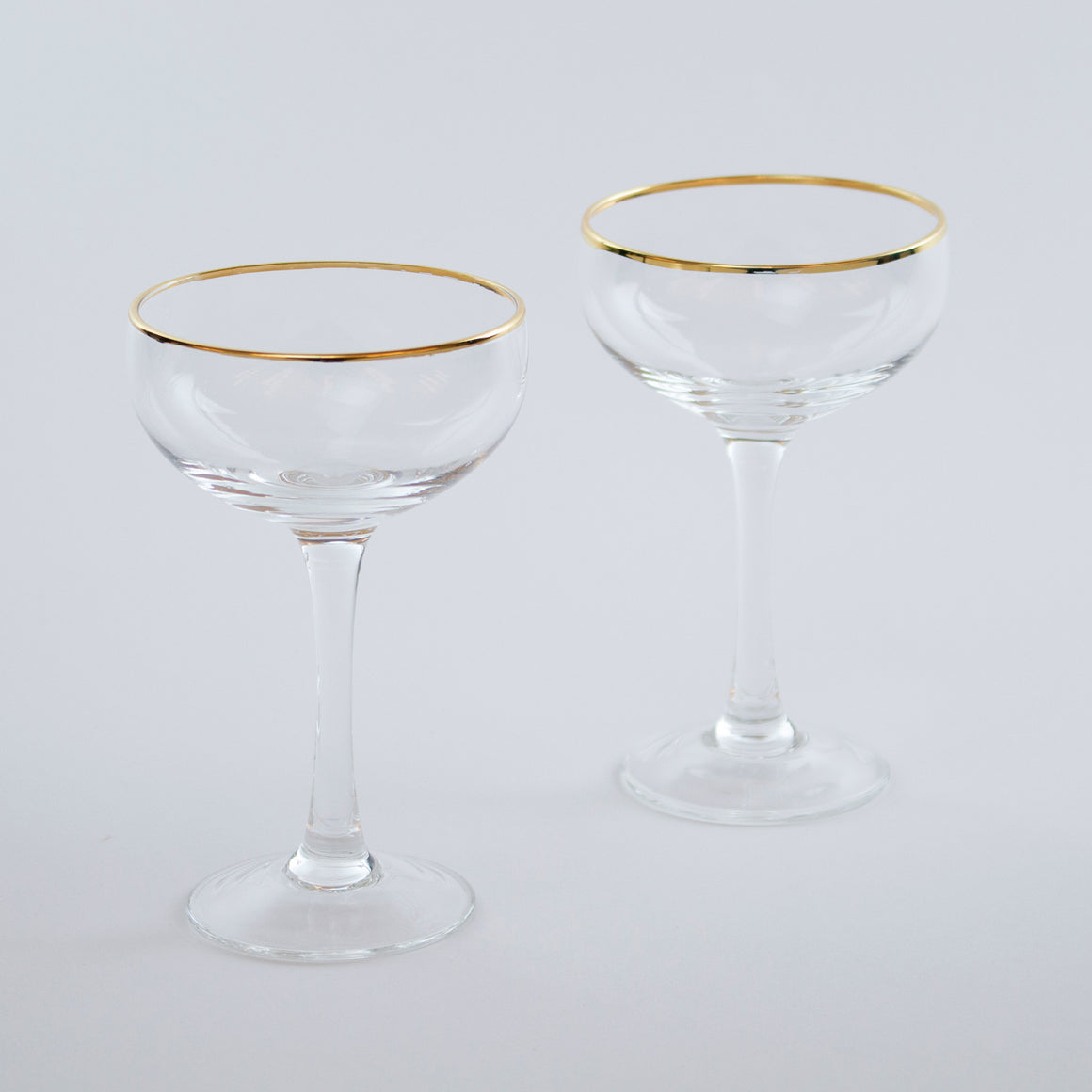 Leopold Gold-Rimmed Tasting Coupe (Set of 6)