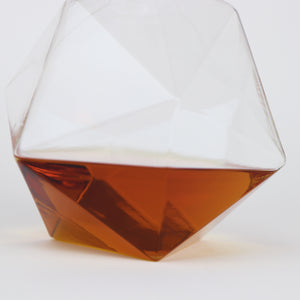 Geometric Crystal Spirits Decanter
