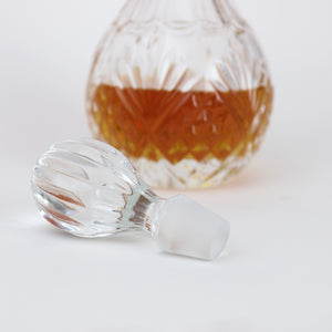 Vintage Inspired Crystal Spirits Decanter