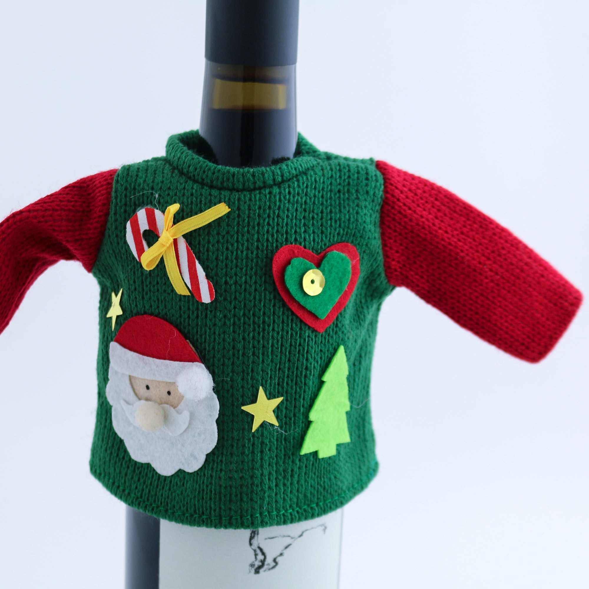 Wine Bottle Ugly Christmas Sweaters - The VinePair Store
