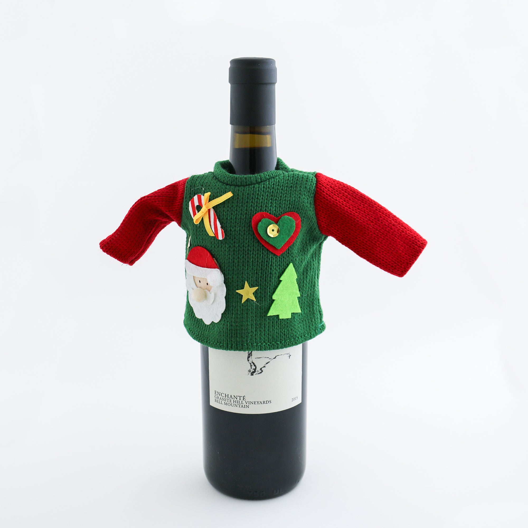 Wine Bottle Ugly Christmas Sweaters The VinePair Store