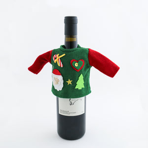 Wine Bottle Ugly Christmas Sweaters