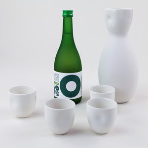 Hand-glazed Wine and Sake Carafe