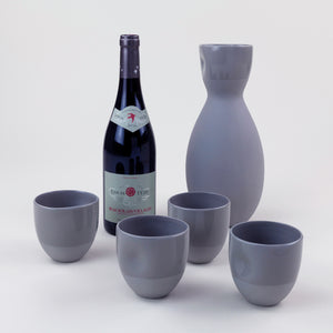 Ceramic Sake / Wine Cups (Slate)