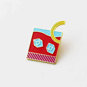 The Happy Hour Enamel Pin Collection (Set of 5)