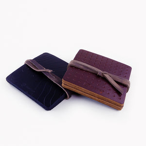 The Adventurer's Leather Coasters