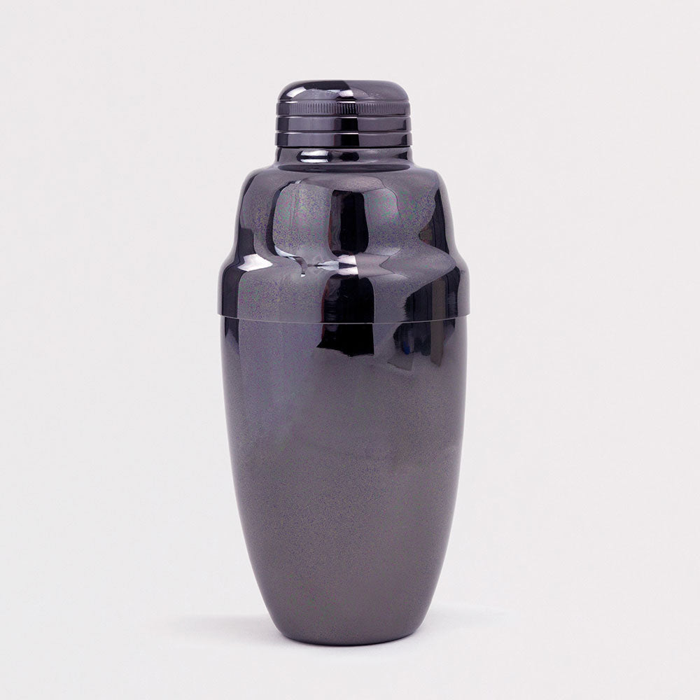 Heavyweight Gunmetal Cocktail Shaker
