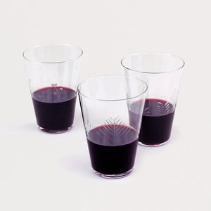 Etched Tuscan Wine Glasses (Set of 6)