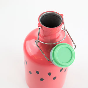 Watermelon Enamel Growler
