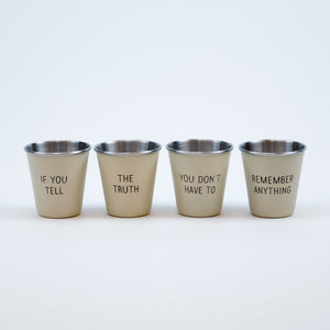 Mark Twain Quotable Shot Glass Set