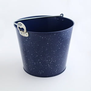 Blue & White Enamel Beer Bucket