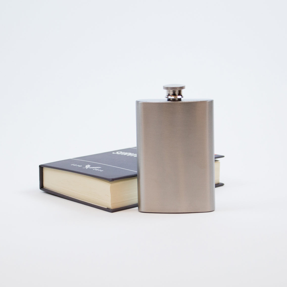 Survival Book Hidden Flask