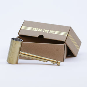 4-in-1 Brass-Plated Bar Tool