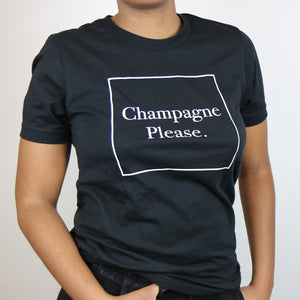 Champagne Please T-Shirt