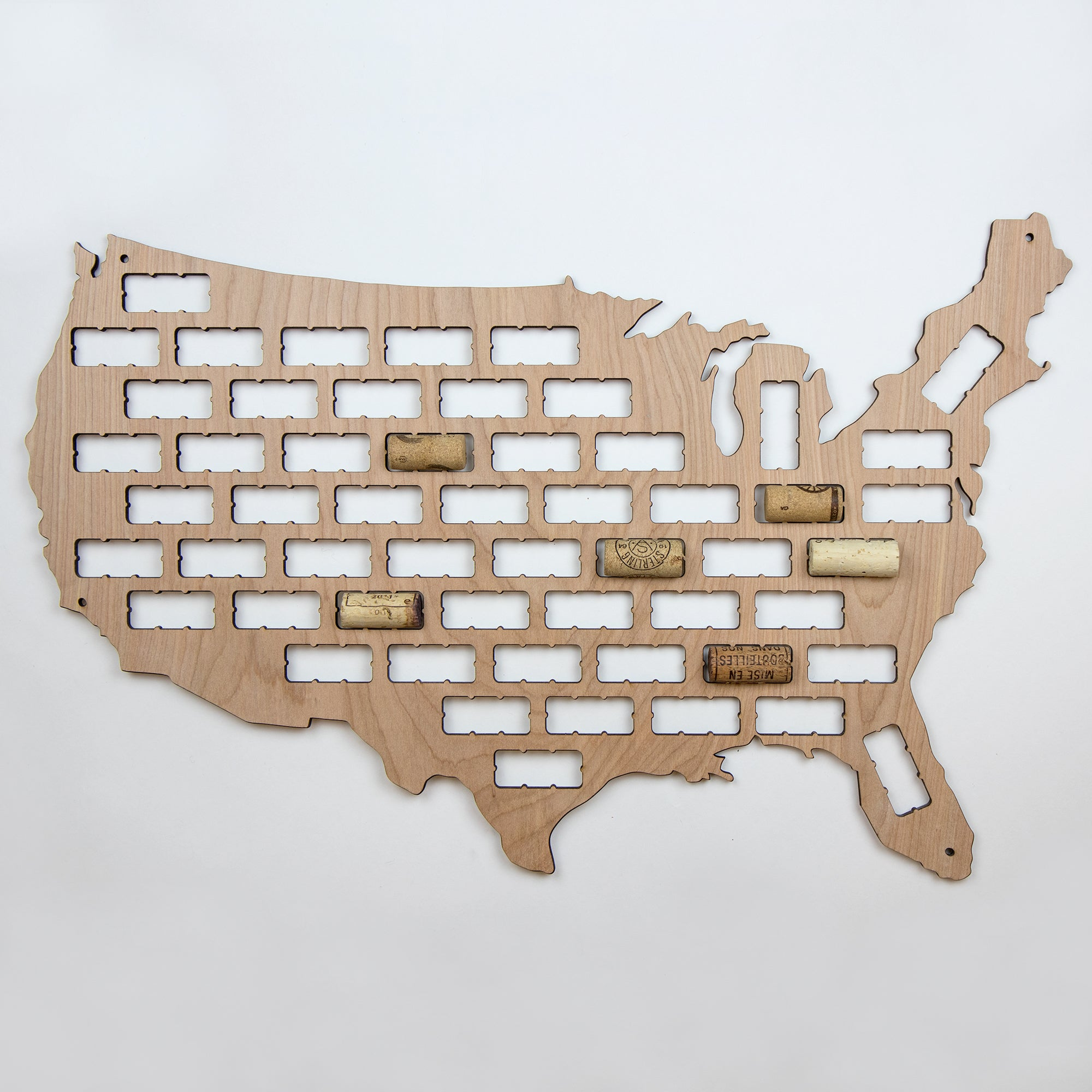 US Country And State Wine Cork Maps The VinePair Store - Oregon beer cap map