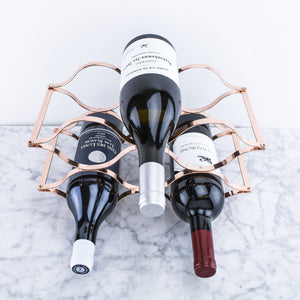 Folding Countertop Wine Rack