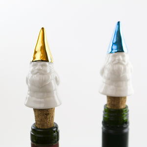 Garden Gnome Wine Bottle Stopper Collection