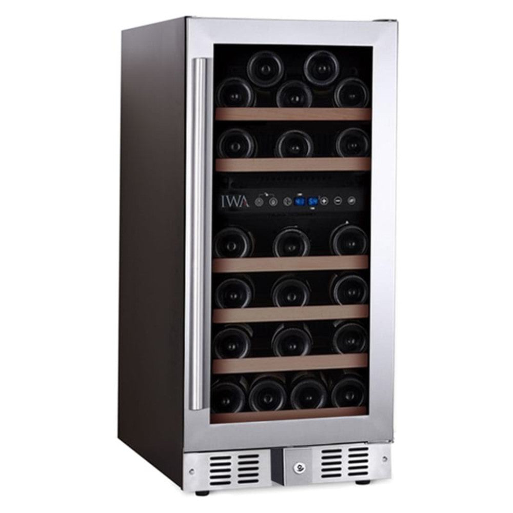 The Grand Reserve Dual-Zone Wine Fridge (30 Bottle)