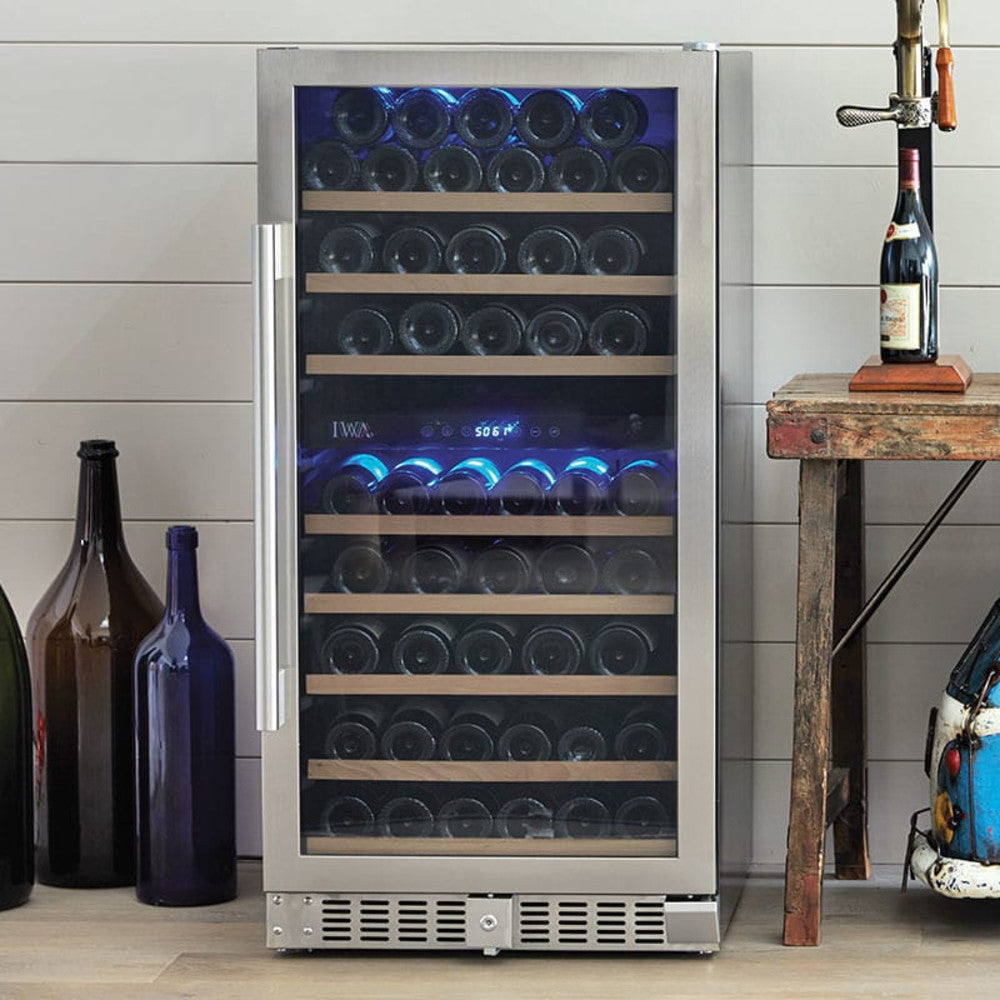 The Grand Reserve Dual-Zone Wine Fridge (94 Bottle)