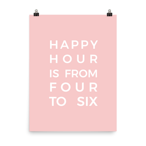 Happy Hour Print