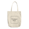 Champagne Please Cotton Tote Bag