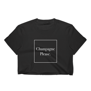 Champagne Please Crop Top
