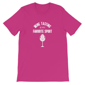 Wine Tasting Is My Favorite Sport T-Shirt
