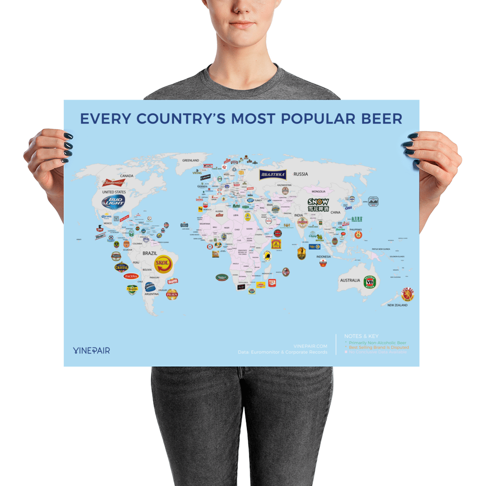 MAP: Every Country's Most Popular Beer