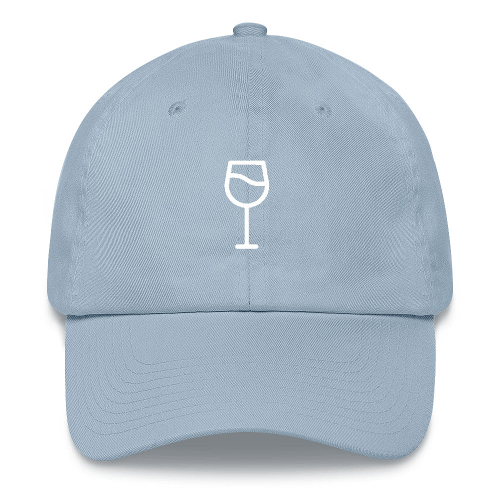 Wine Glass Emoji Baseball Hat