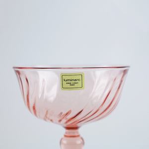 French Vintage Coupe Glasses